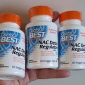 N-ацетилцистеин (NAC) для регуляции процесса детоксикации. 60 капсул