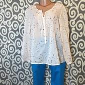 Модный, летний комплект: батистовая рубашечк и бриджи для пышненьких девушек . В Новом состоянии .