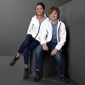 ☘ Стильна світловідбивна дитяча куртка з капюшоном від Tchibo (Німеччина), р.: 134/140