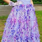 Детское нарядное выпускное платье. Рост 122-134. В новом состоянии!