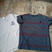 Две футболки на 3-4года.
