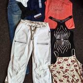 Забираем 8 ед.✓ Пакет вещей: туника, стринги, майки, бриджи, джинсы, р.s/m