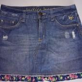 Брендовая джинсовая юбка