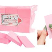 """Бесворсовые салфетки для маникюра, педикюра """"Special Nail"""" ( тканевые, хлопковые) 6*5 см, 1000 шт."""