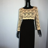 Качество! Комбинированное платье от Bassini, новое состояние