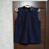 Фирменная новая красивая блуза р.10-12