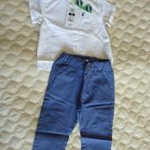 Костюм, комплект c рубашкой на малыша Cool club by Smyk, р-р 74 см