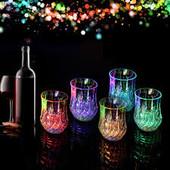 Обалденно красивый Стакан с Led подсветкой Flash cup! При покупке 5-ти стаканов 6-й в подарок!!!!!