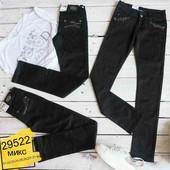 Черные брюки для девочек (размеры от 21 по 27)