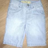 Шортики джинсовые 4-5лет замеры на фото