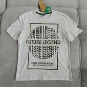 Био-хлопок! фирменная футболка от Рерсо! на 9-10 лет рост 134-140! cупер!