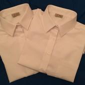 Две белоснежных рубашки Next 15 лет