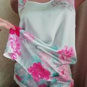 """Чарівна ніжна атласна піжамка від """"Accessorize"""". Чудовий стан. Розмір 8-10"""