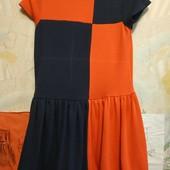 Платье из трикотажа средней плотности на девочку рост 116см