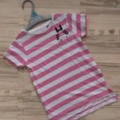 Распродажа лета! Шикарная фирменная футболка девочке 3/4 лет.