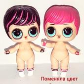 MGA LоL мальчик ...меняет цвет от тепла! Оригинал...1 кукла в лоте..есть потёртости на глазах.