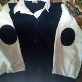 Для школы рубашка с жилеткой