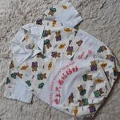 Легкая рубашка 6-7 лет