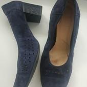 Замшевые туфли, р.41, стелька 26-26.5 см