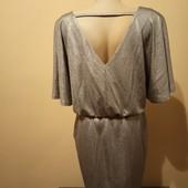 Сріблясте плаття - туніка , стан нового M,Lфірми Reserved, 10% знижка на УП