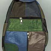 Рюкзак женский натуральная кожа разные цвета