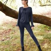 ☘ Стильна блуза з бантом в горошок від Tchibo (Німеччина), наші розміри: 44/46 (36/38 євро)