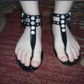 Незаменимая обувь для моря речки в дождь селиконовые басаножки!В лоте размер36!Укр почта 5% скидка
