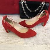 Туфлі із натуральної замші,від Minelli,розміри 37,39