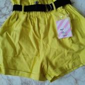 Крутые шорты! Цвет Бежевый и жёлтый