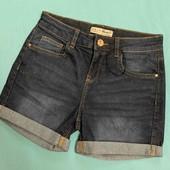 Джинсовые шорты, высокая посадка! р.8(40-42)!! Можно на подростка.