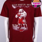 Мужская футболка размер 54-56 Боксер рисунок светится в темноте