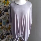 Нарядная футболка / блуза батал