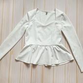 Белая блузка с квадратным вырезом от Asos