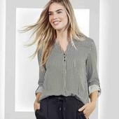 Esmara Германия Тонкая рубашка блузка 100% вискоза 54р евро