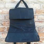 Крутой кожаный рюкзак stow