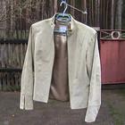 куртка пиджак замшевый S-M