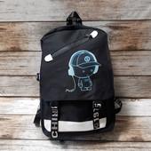 Школьный рюкзак с кодовым замком и USB