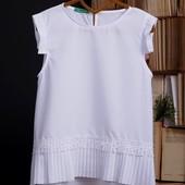 Школьная блуза на девочку 140- 158рр