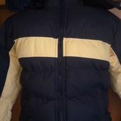 Куртка, зима, внутри флис, p. 12 лет 152 см, Chariot. cостояние отличное.