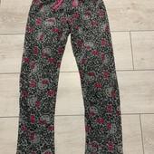 Флисовые пижамные штаны Hello Kitty на рост 140-146