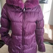 Красивая зимняя куртка Moncler 2р. (наш 42-44р)