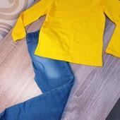 Фирменные реглан и джинсы на девочку Waikiki на 4-5 лет. Много лотов.