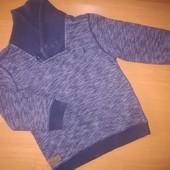 Primark свитер на байке для мальчика на 5-6лет, на рост 116