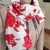 Красивый шарф палантин снуд. Лот - один на выбор