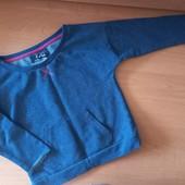 Реглан для девочки, цвет серый, на 9-10лет, на рост 140