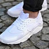 """Неубиваемые Кроссовки реплика Nike Air Huarache """"White""""."""