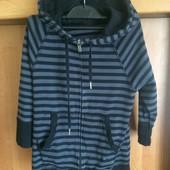 Кофта, p. 3 года 98 см. H&M sport, куртка, состояние отличное