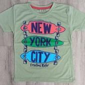 """Новые футболки на мальчика Турция kiki""""new york city, 8, лет"""