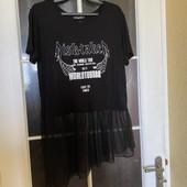 Модная футболка туника Турция