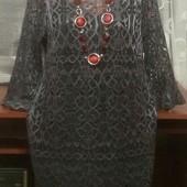 Очень красивое ажурное платье р.14/16. wallis